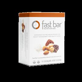 Fast Bars Nuts & Nibs| 10-Pack - Single Box